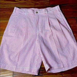 Brooks Brothers seersucker preppy shorts 32